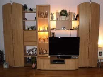 Wohnzimmer Schrank Anbauwand