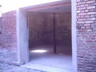 Grosse Garage mit Strom auch