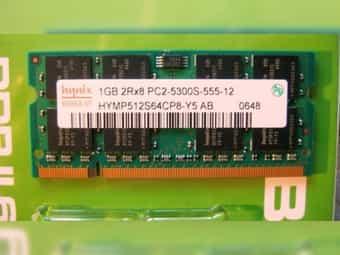 RAM-Speicher HYNIX 1 GB 2Rx8