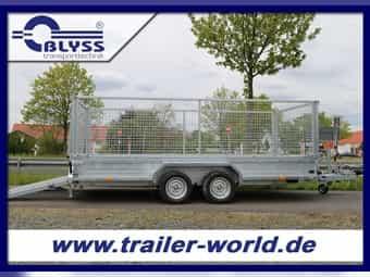 NEU Maschinentransporter Anhänger Saris 406x182x130cm