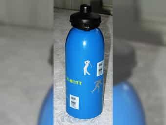 Trinkflasche Mc Bott aus Aluminium