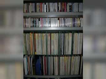Vinyl Schallplatten und CDs privat
