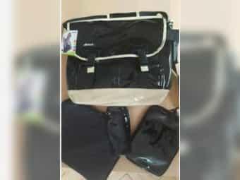 Baby-Wickeltasche -Umhänge-Trage-Tasche Bag Shopper Hauck