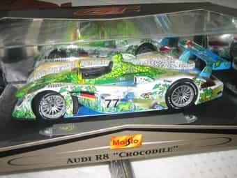 Audi R 8 Crocodile Rennmodell