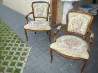 216 Chippendahle 2 Sessel mit