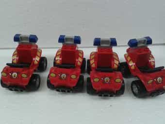 4 Lego-Duplo Feuerwehr-Quad
