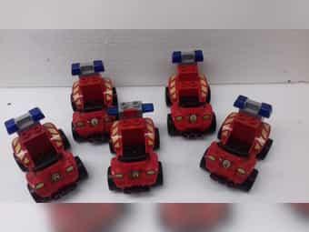 5 Lego-Duplo Feuerwehr-Quad