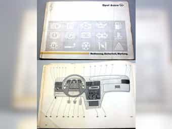 1992 - OPEL ASTRA Bedienungsanleitung - Betriebsanleitung