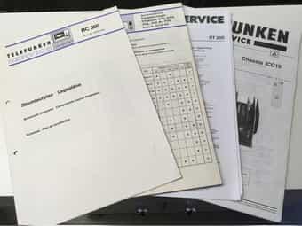 Service Unterlagen - Schaltbilder