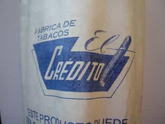 25 kubanische Zigarren El Credito