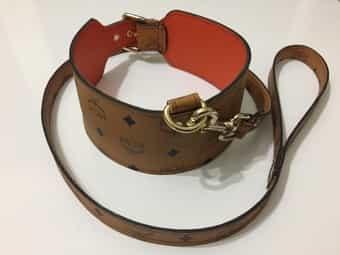 Mcm Hundehalsband Leder dog collar